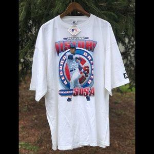 Vintage Starter Sammy Sosa HomeRun t-shirt